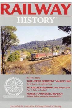 AUSTRALIAN RAILWAY HISTORY ISSUE 964