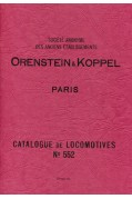 ORENSTEIN & KOPPEL CATALOGUE No. 552 REPRINT