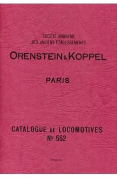 ORENSTEIN & KOPPEL CATALOGUE No. 552 REPRINT