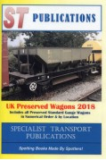 UK PRESERVED WAGONS 2018